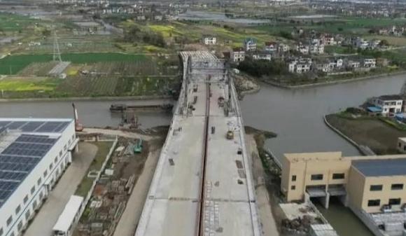 百尺大桥新建工程今年6月完工!