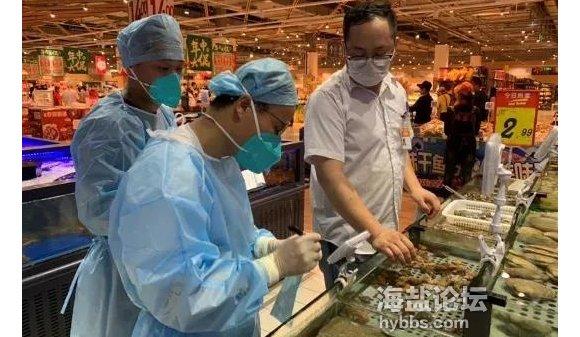 嘉兴市开展各类市场应急监测,未发现新冠病