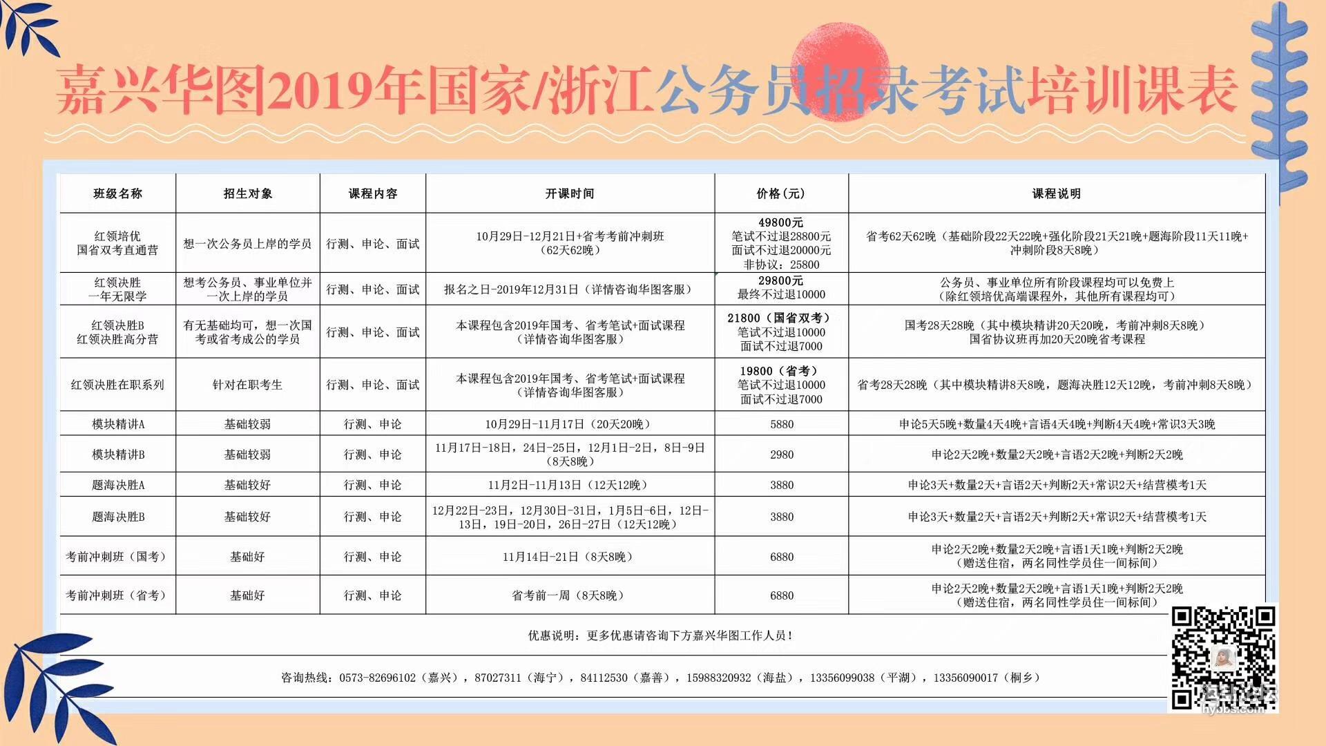 2019国省课程