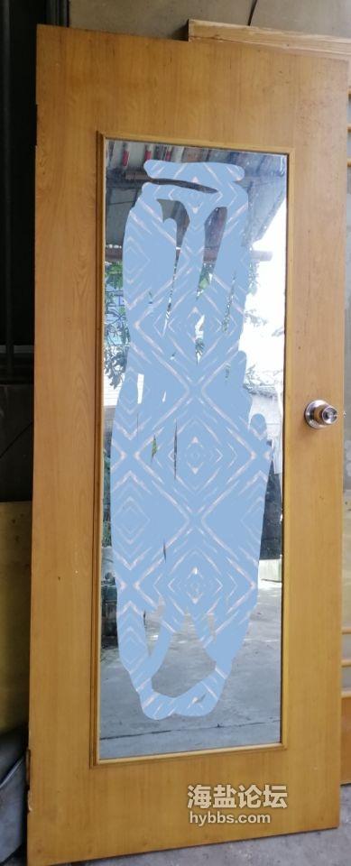 木门带镜,宽80cm*高2米,350元