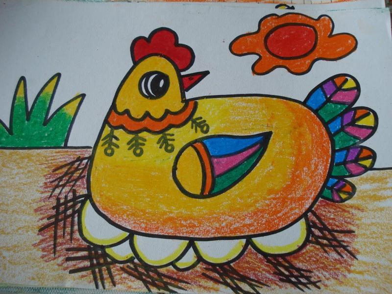儿童画与儿童智力发展